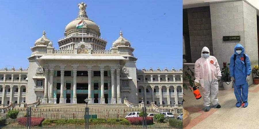 vidhanasoudha to fight coronavirus outbreak