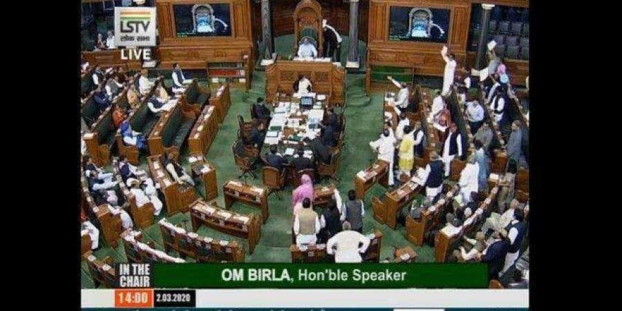 Lok Sabha adjourned after Congress, BJP MPs scuffle over Delhi riots