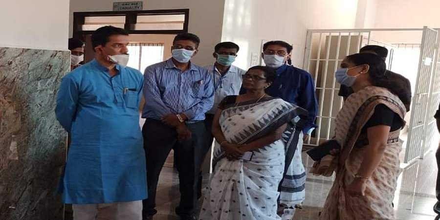Nalin kumar kateel visit to wenlock hospital