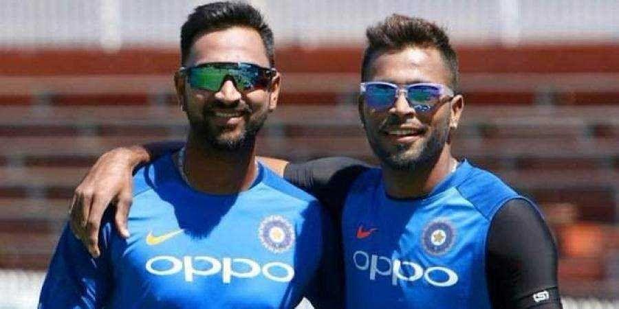 Pandya brothers turn home into cricket stadium amid coronavirus lockdown