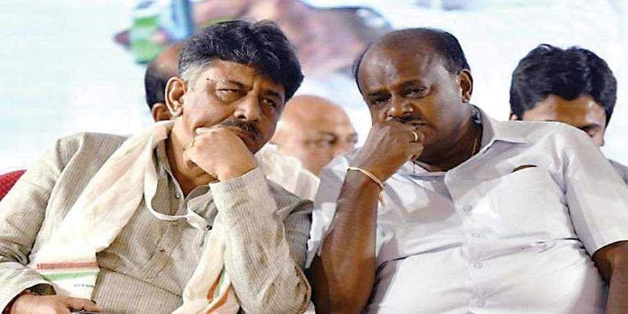 DK Shivakumar-HD Kumaraswamy