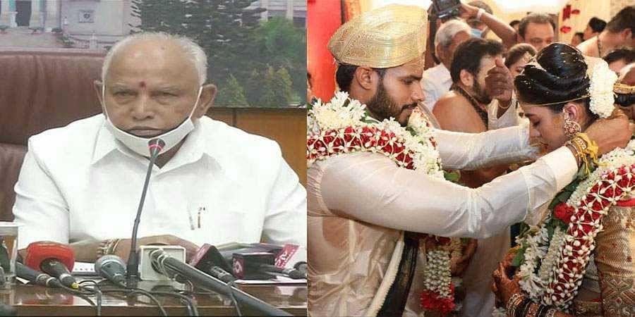 CM BS Yeddyurappa on Nikhil Marraige