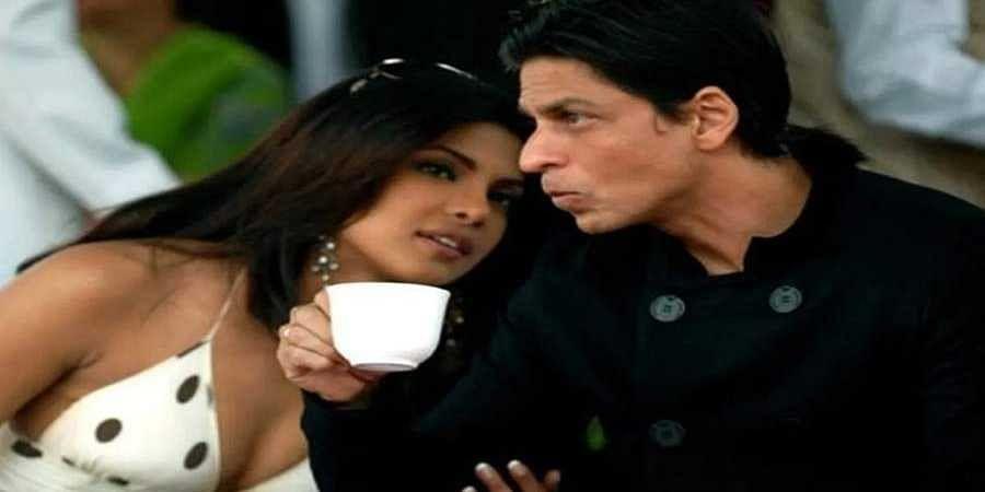 Priyanka-Shah Rukh Khan