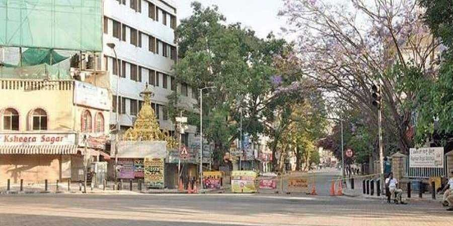 Gandhinagar locality, which is a hub of small- and medium-sized hotels, has been wearing a deserted look since the lockdown