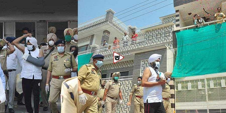 Punjab cop Harjeet Singh