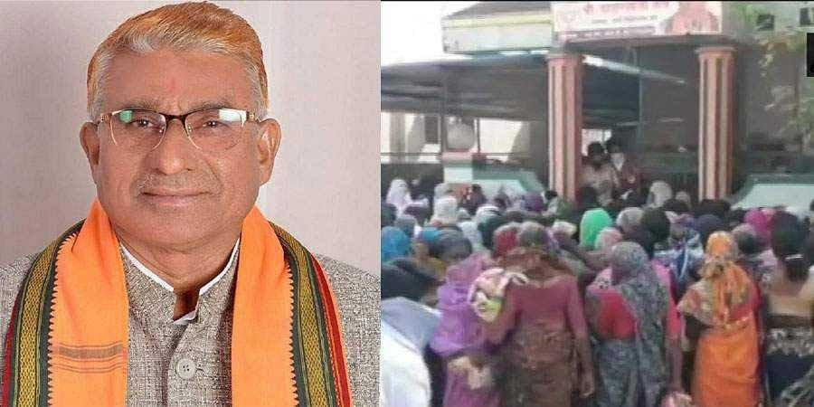 Maharashtra BJP MLA violates lockdown