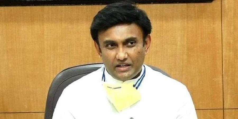 Minister K Sudhakar