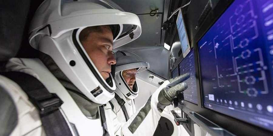 NASA astronauts enter routine quarantine for historic SpaceX Crew Dragon