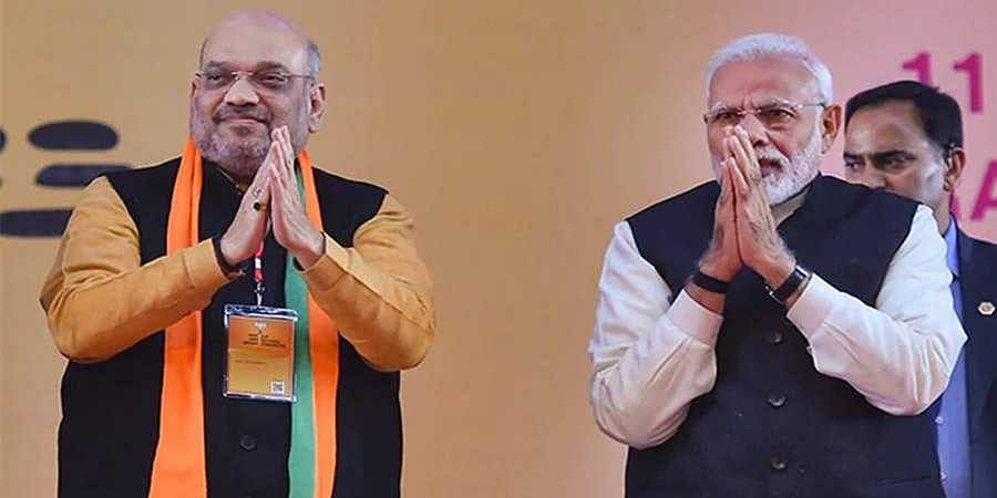 Amit Shah and PM Modi