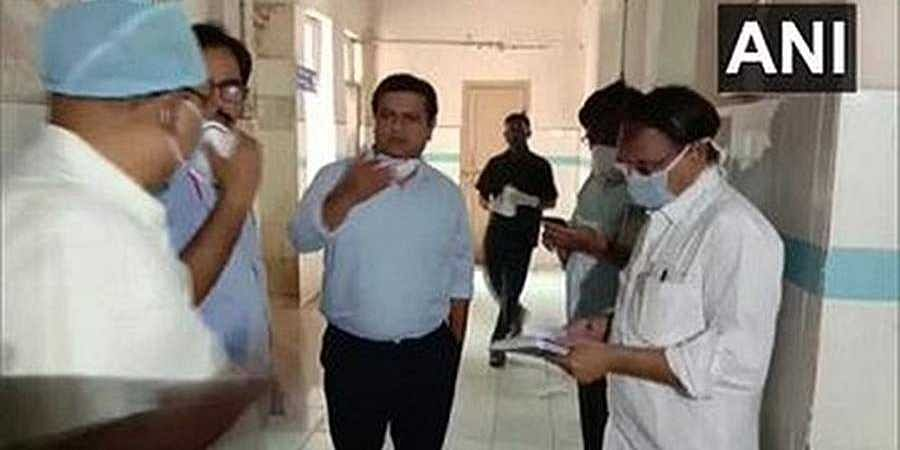 NDRF officials in hospital