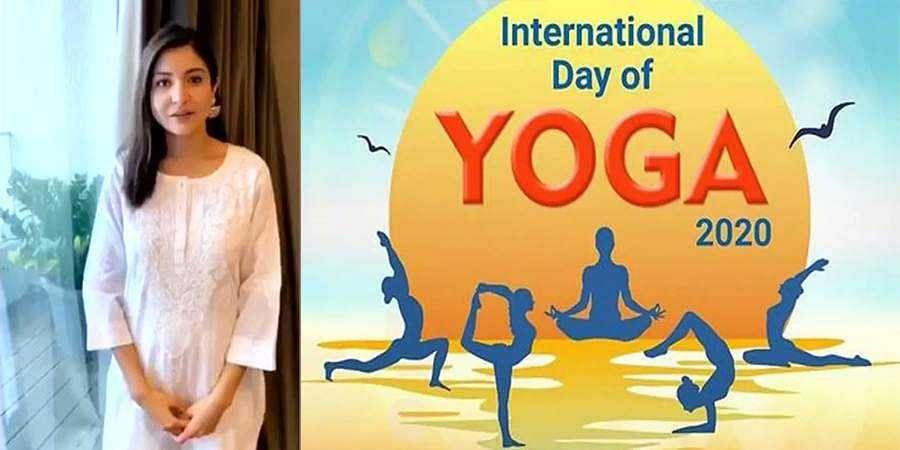 yoga Day-Anushka Sharma