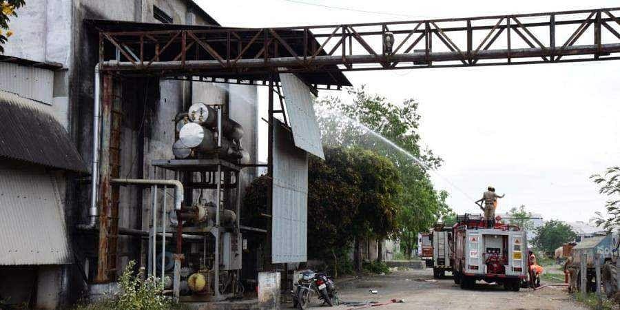 gas leak factory in Kurnool