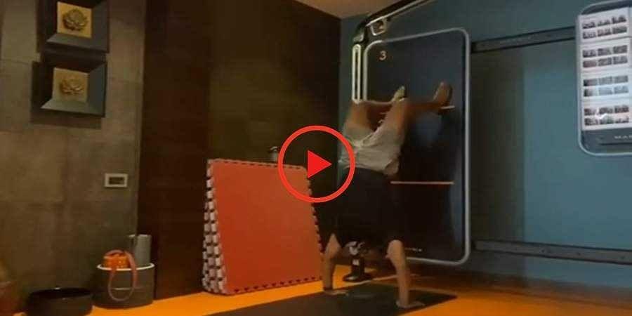 Puneeth Rajkumar seen in jaw dropping workout video