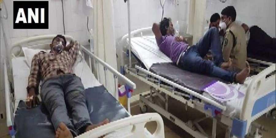 4 hospitalised