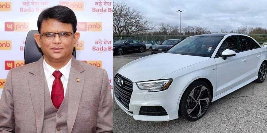 Punjab National Bank-Audi car