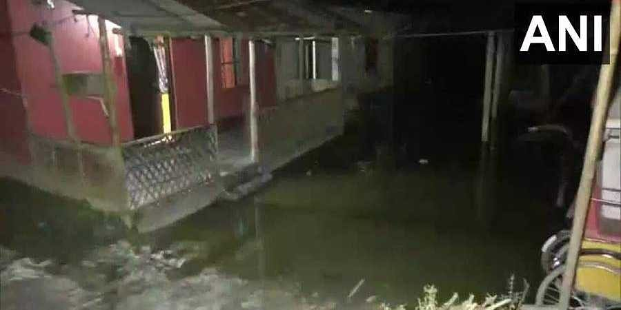 Villages have been flooded