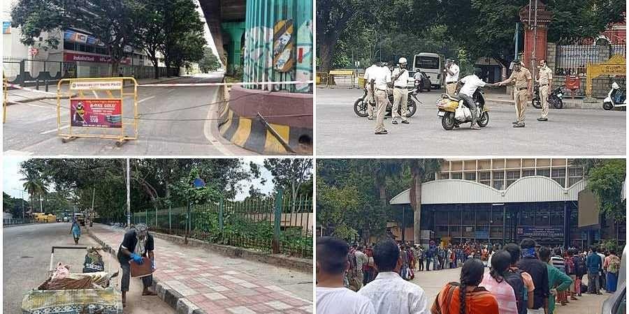 Scene from Bengaluru city