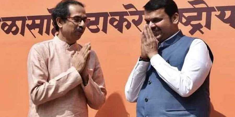 Uddav Thackeray and Devendra Fadnavis