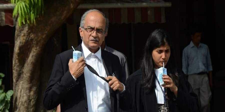 Activist lawyer Prashant Bhushan