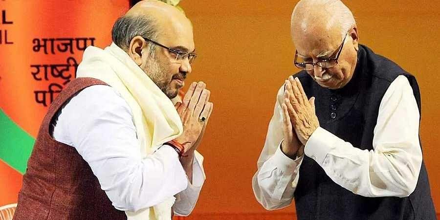 LK Advani-Amit Shah