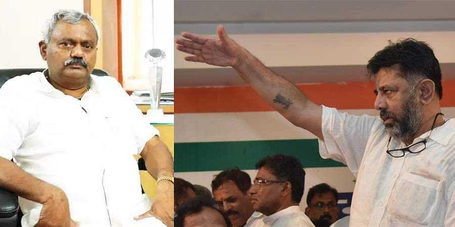 ST Soma Shekhar on DK Shivakumar