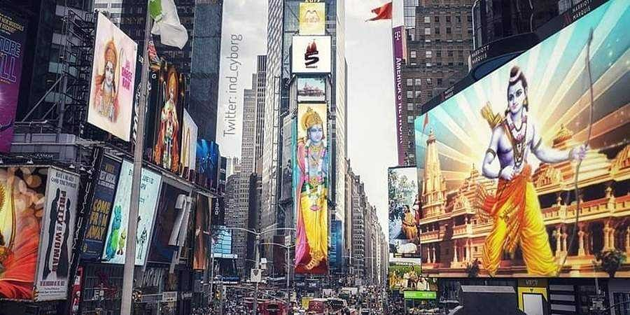 Lord Ram's images to be displayed in Times Square to celebrate August 5 Ayodhya Temple groundbreaking ceremony