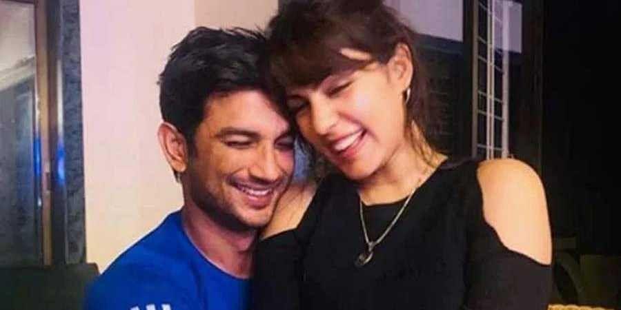 Sushanth Singh Rajaput and Rhea Chakravarthy(File photo)