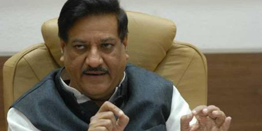 Former Maharashtra chief minister  Prithviraj Chavan