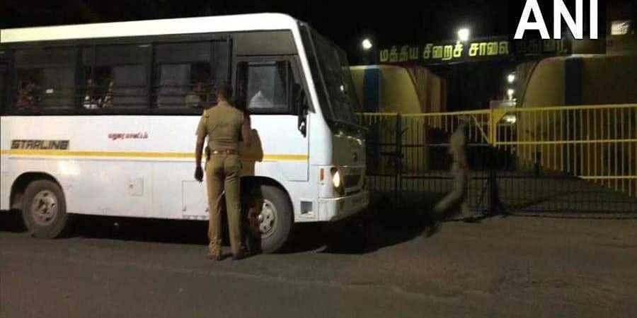 Vehicle taken to Madurai central prison