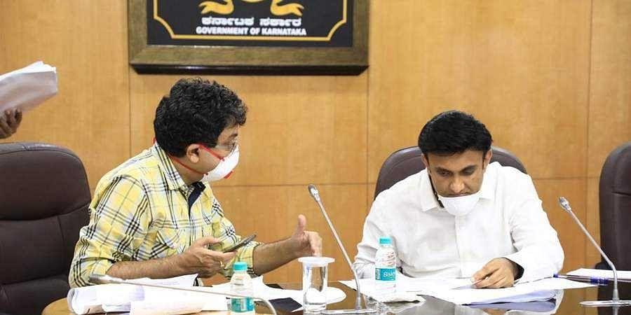 Medical Education Minister Dr K. Sudhakar