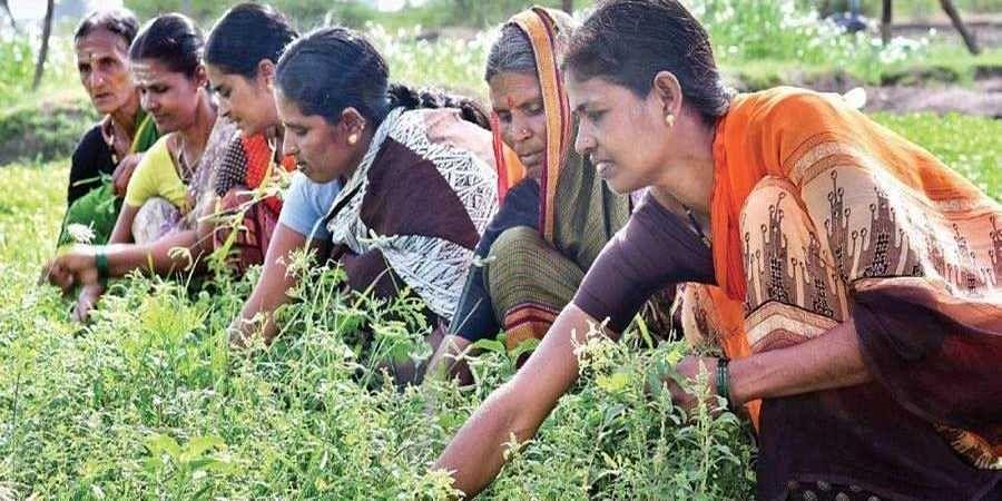 Members of a self-help group in Karnataka