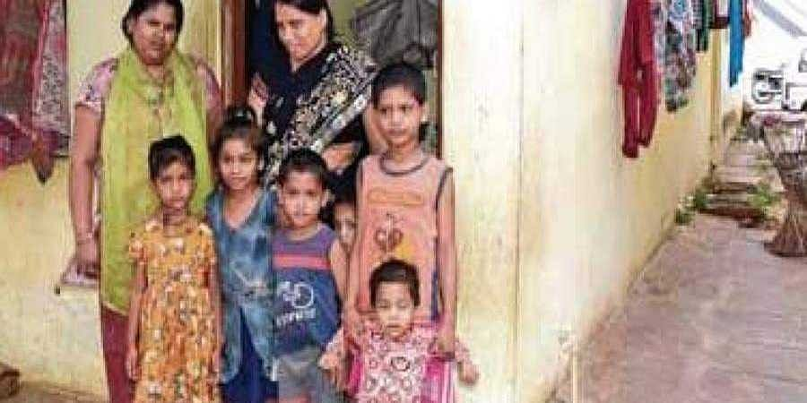 Kamala and her kin, who came to Mysuru from Uttar Pradesh, are still struggling to earn their livelihood