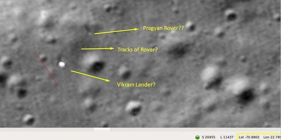 Pragyan rover intact on Moon's surface, says Chennai techie Shanmuga Subramanian