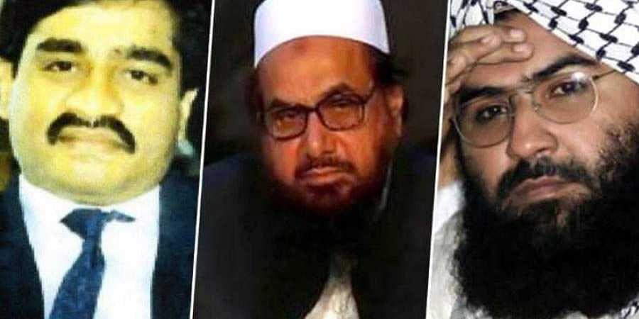 Hafiz Saeed-Masood Azhar-Dawood Ibrahim