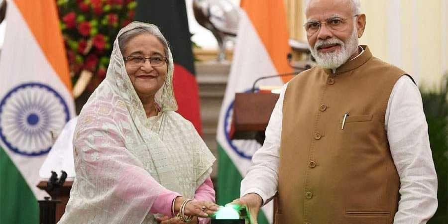 pm Modi-Sheikh Hasina
