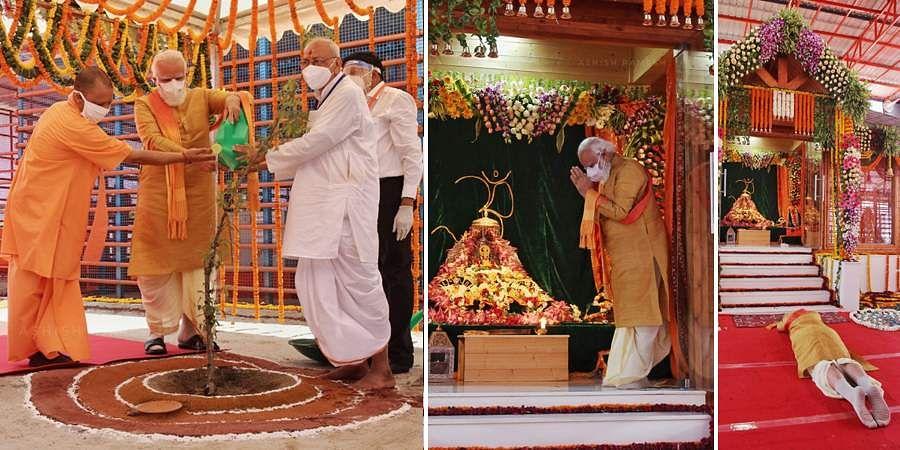 In Photos, Ayodhya Ram Temple Bhoomi Pujan Program