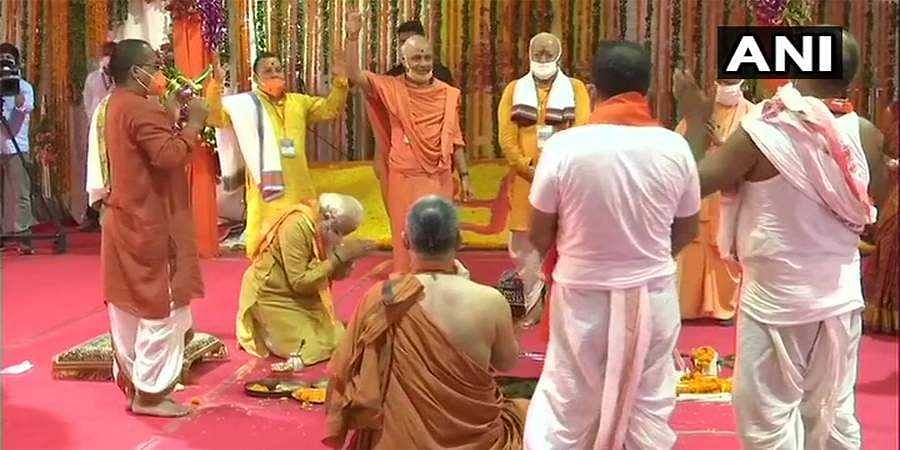 Ayodhya: RamTemple Bhoomi Pujan concludes