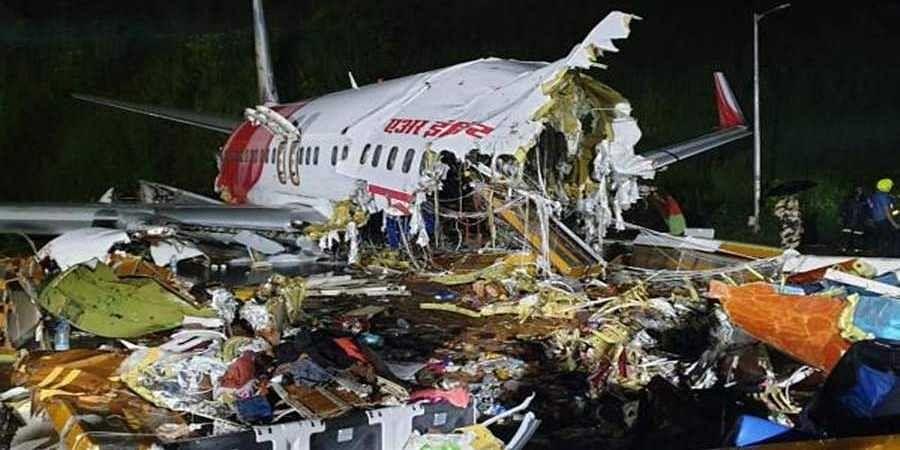 Crashed Air India flight