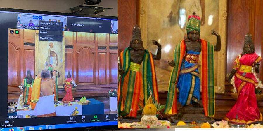 UK restores three idols