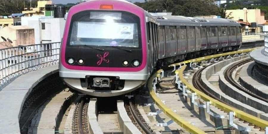 Namma metro rail photo