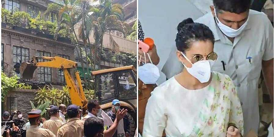 BMC demolition drive and Kangana Ranauth