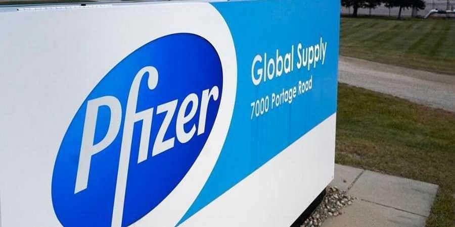 Global pharma major Pfizer.