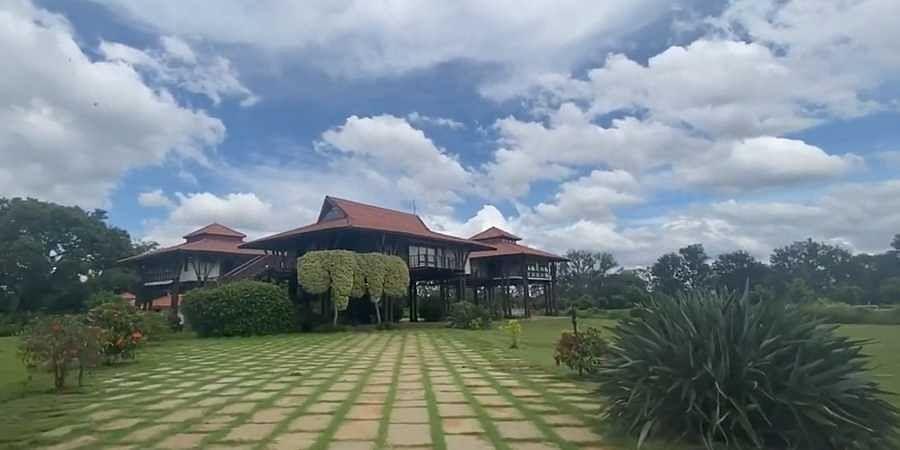 Baron's Den farmhouse