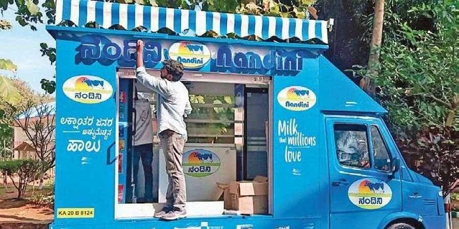 'Nandini on Wheels' mini-trucks will bring milk to your doorsteps