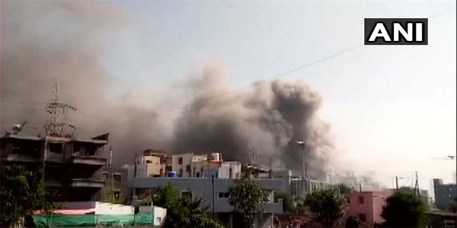 Fire breaks out at Serum Institute of India
