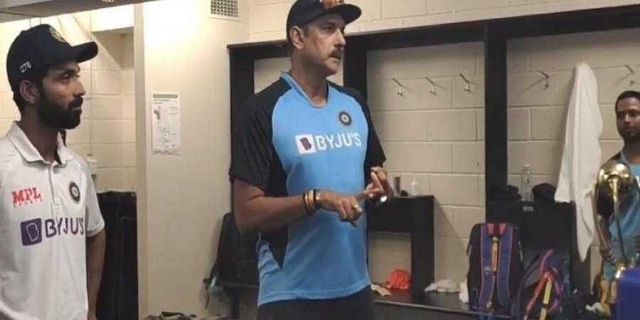 India coach Ravi Shastri got down to commending the 'courage, resolve and spirit' of his wounded warriors.