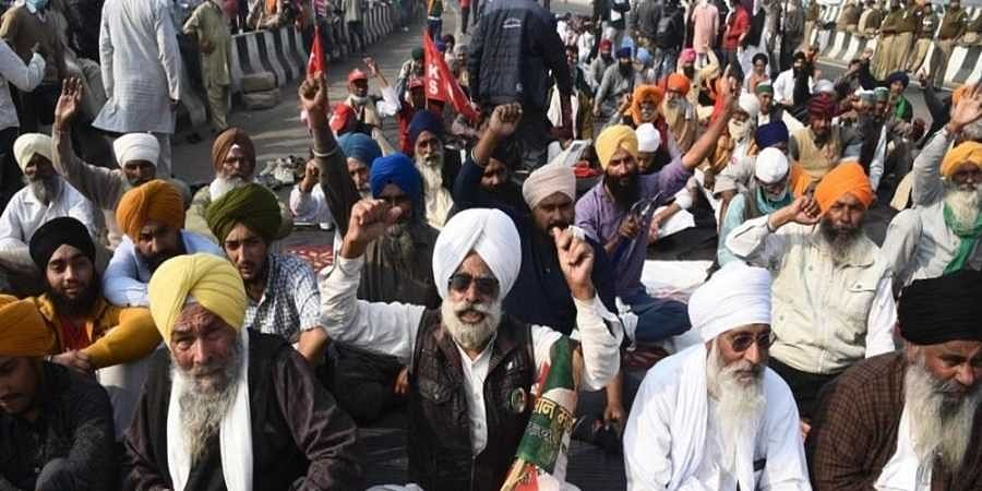 Farmers protest in Ghazipur File photo
