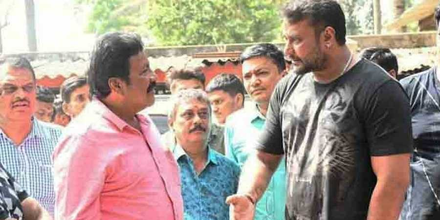 Challenging star darshan and mInister BC patil