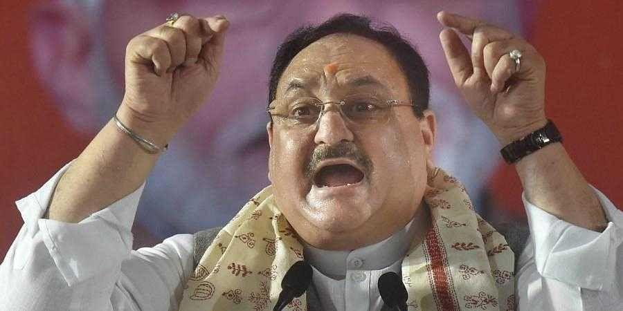BJP chief JP Nadda (Photo | PTI)