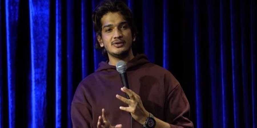 Stand-up comedian Munawar Faruqui
